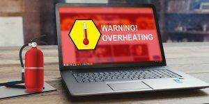 réparation ordinateur surchauffe